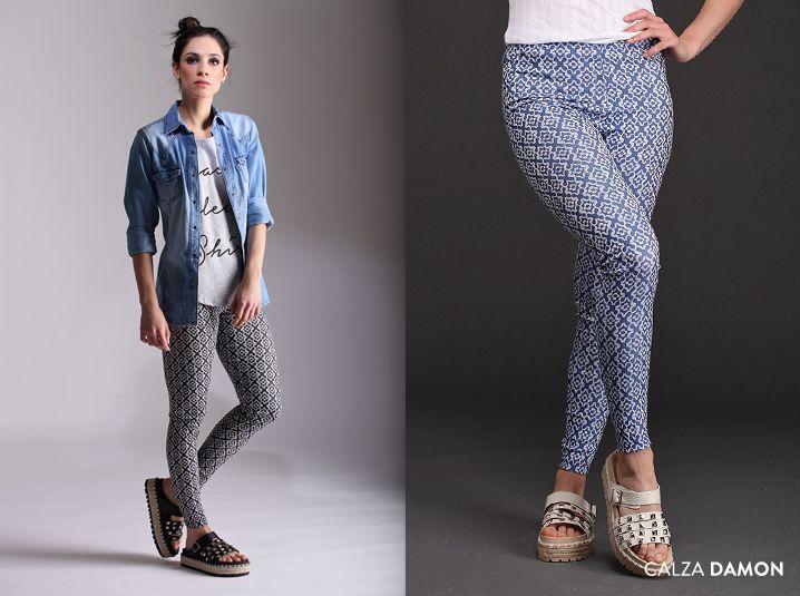 La Calza Damon es cómoda y trendy. Una prenda que le aporta textura a tus looks. ¡Disponible en 2 combinaciones y 4 talles!