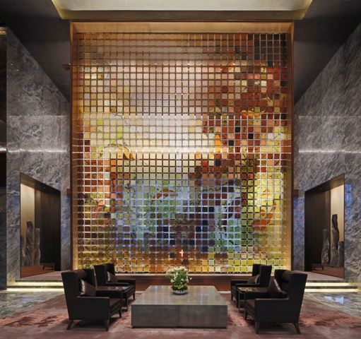 Conrad Hotel in Beijing, China. Architectural project: MAD Architects