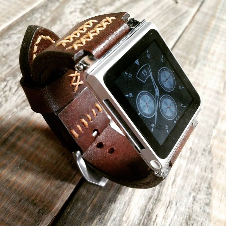 #applewatch,  #ipodnano , #apple,  #handmade, #manstyle,  #leatherstrap