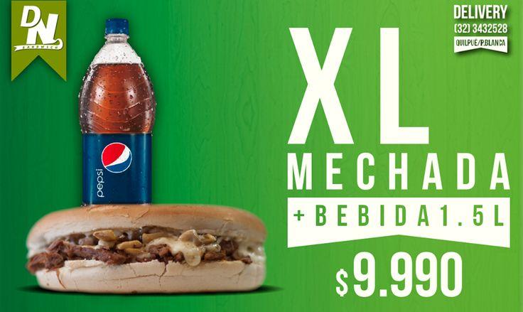 Disfruta el esquisto sabor de la carne mechada en un sandwich con el tamaño de tu apetito delivery 32-3432528