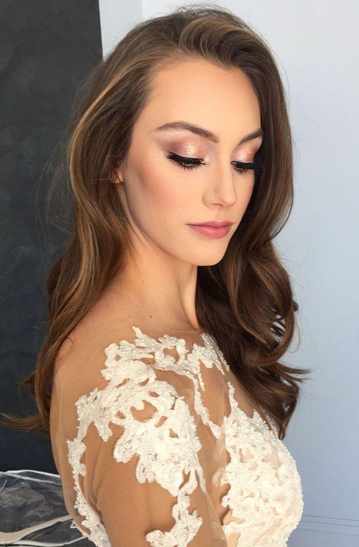 Mariage, idée d'inspiration maquillage mariée #mariagemakeup #bridemakeup – #bride #bridemakeup #Id … – Wedding Makeup Celebrity