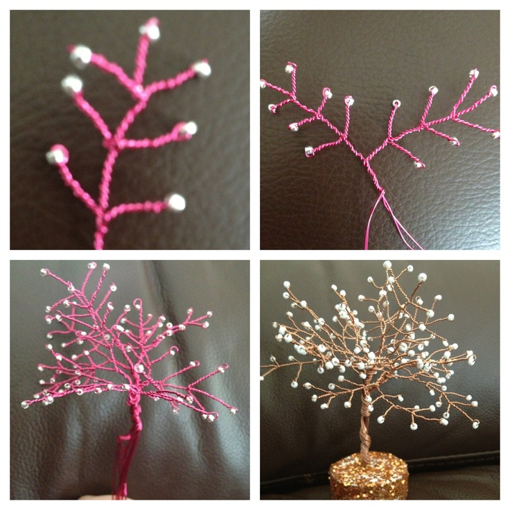 How to make a wire tree sculpture diy pinterest wire for How to make a wire sculpture