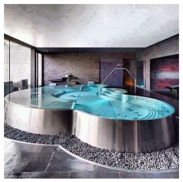 106 best Jacuzzi // Hot-Bathtub // Tina de Baño images on Pinterest ...