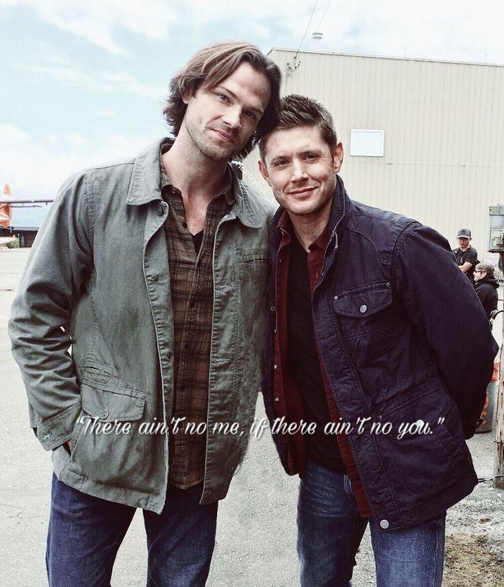 My own little edit #Spn #spnfamily #JensenAckles / Dean Winchester #JaredPadalecki / Samuel Winchester