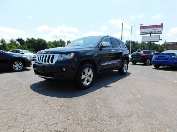 2012 Jeep Grand Cherokee OVERLAND 4WDOne OwnerClean CarfaxFINANCING (FINANCE GOOD OR BAD CREDIT!!) $17995