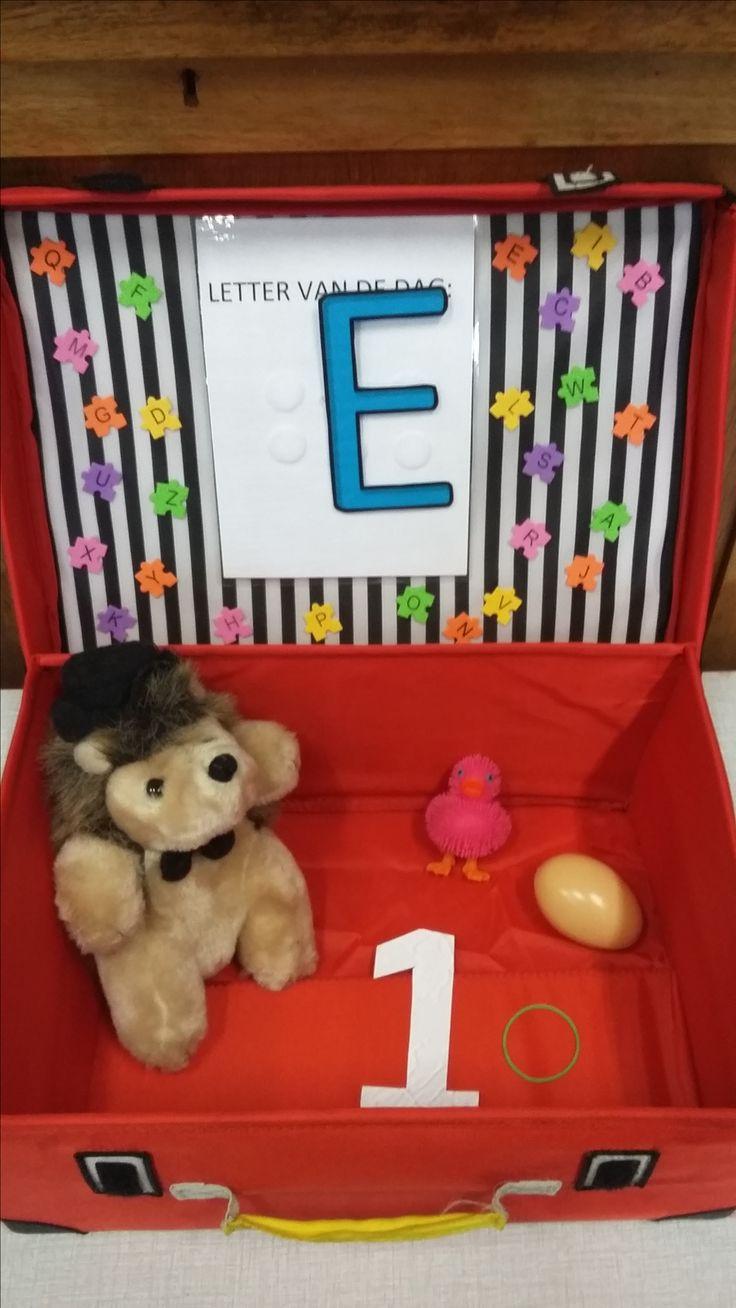 De Letter E (Letterkoffer)