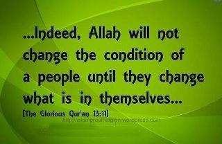 Quran (13:11)