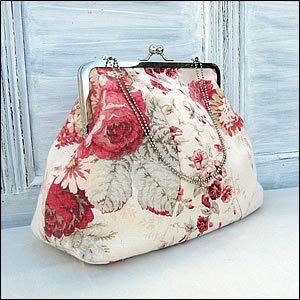 Vintage Style Frame Bag