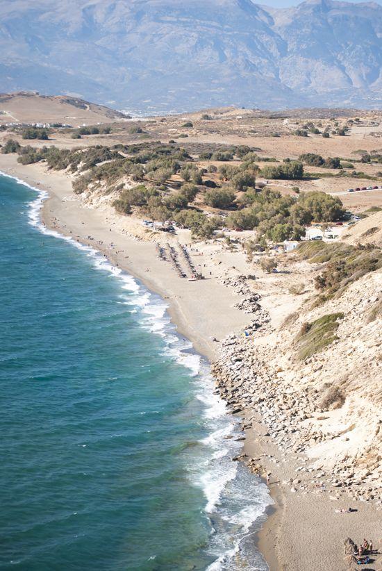 Komos beach - southern Crete