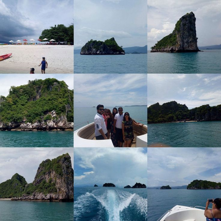 7. May - Private Cruising around the #FIVE #ISLANDS incl. stop at Koh Madsum
