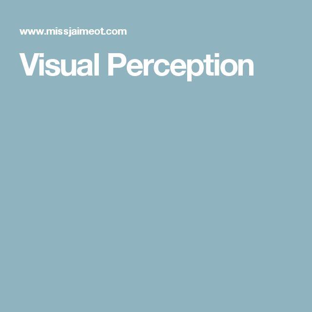 Visual Perception