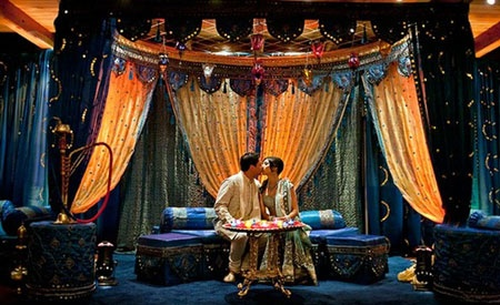 Inspiration from Indian Wedding Ideas Midnight Blue Mendhi
