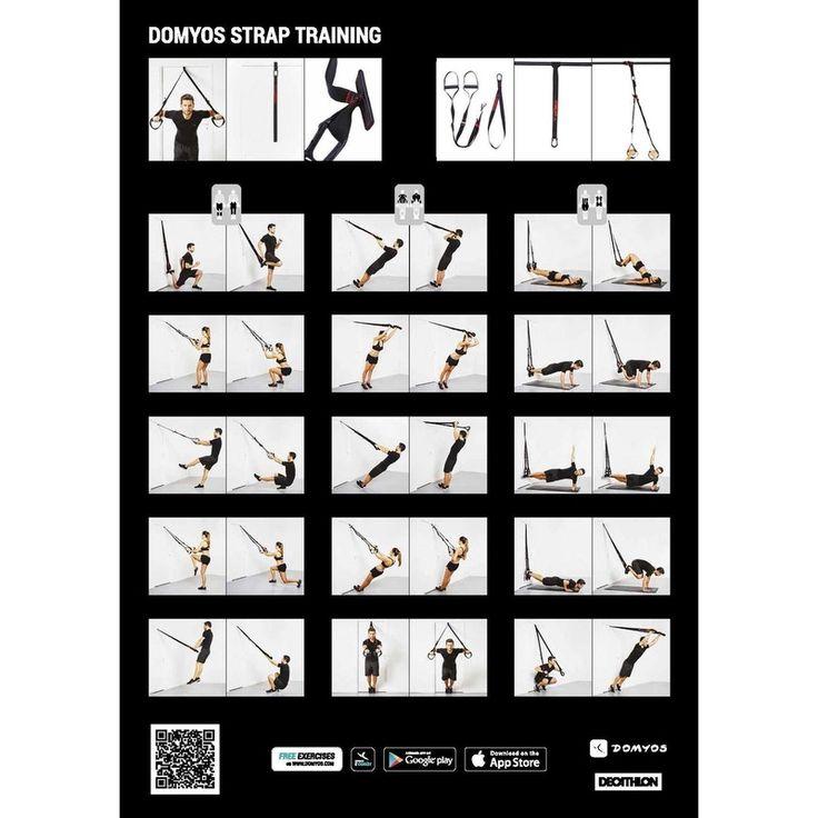 Fita de Suspensão Cross-Training Strap Training 100