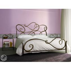 Double Bed In Wrought Iron Several Colours Available Bedprice In