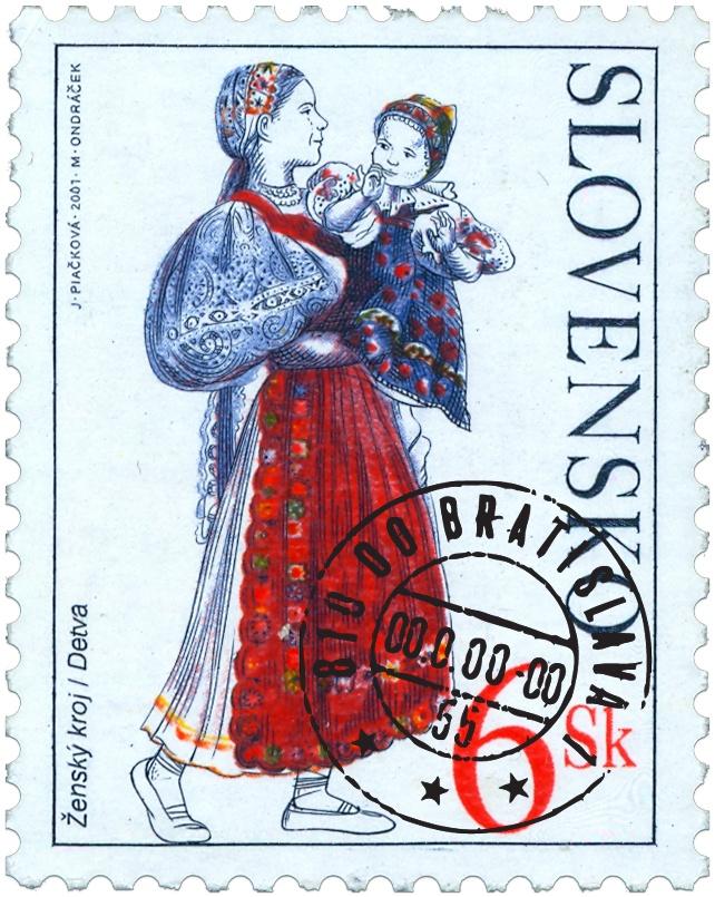 Slovak Folk - Stamp