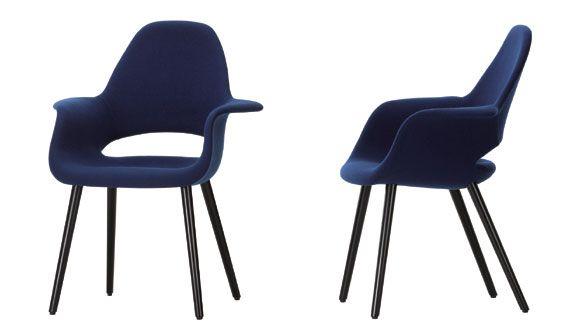 오가닉체어(Organic Chair)_1940 찰스 임스 & 에로 사리넨