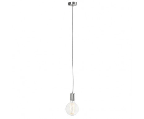 Create 1 Light Pendant in Brushed Chrome $29.95  WAS $39.95  SAVE $10.00