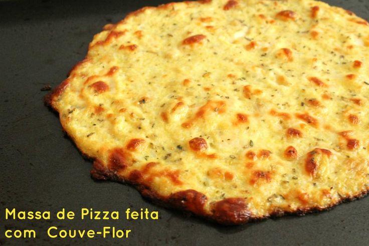 Receita de Pizza Saudável