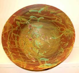 """'Bowl Solarflare' Porcelain by Canadian Artist Kayo OYoung. 8""""x20""""x20.5"""" #Pottery #CanadianArt #Porcelain"""