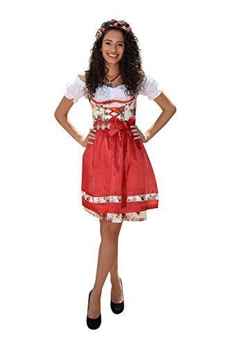 #Wiesn #Oktoberfest #Dirndl #Set #Trachtenkleid #484GT #Rot #geblümt #34 Dirndl Set Trachtenkleid 484GT Rot geblümt 34, , Bequem zu Tragen, Sehr Elegant, Schmaler Style, ,