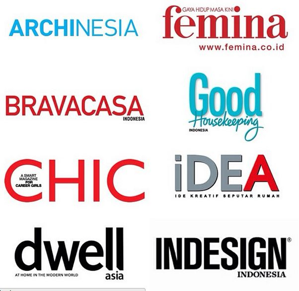 Thank you to all Media Partners for the generous partnership also who contributed resources to support our program #APSDA2014 @ARCHINESIA @bravacasa_id @CHICmagz @dwell @FeminaMagazine @goodhousemag @IndesignIndo @iDEAOnline