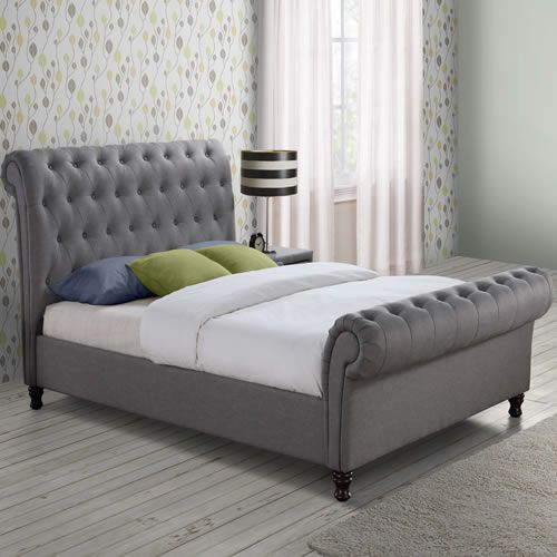 Amazing Castello Upholstered Bedframe Model - upholstered bed frame and headboard Ideas