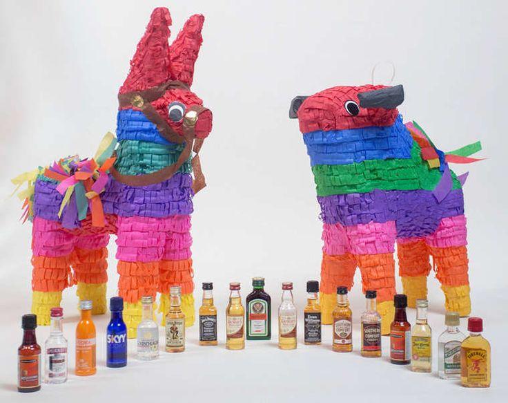 Nipyata – Des piñatas pour les adultes remplies de bonbons et d'alcool