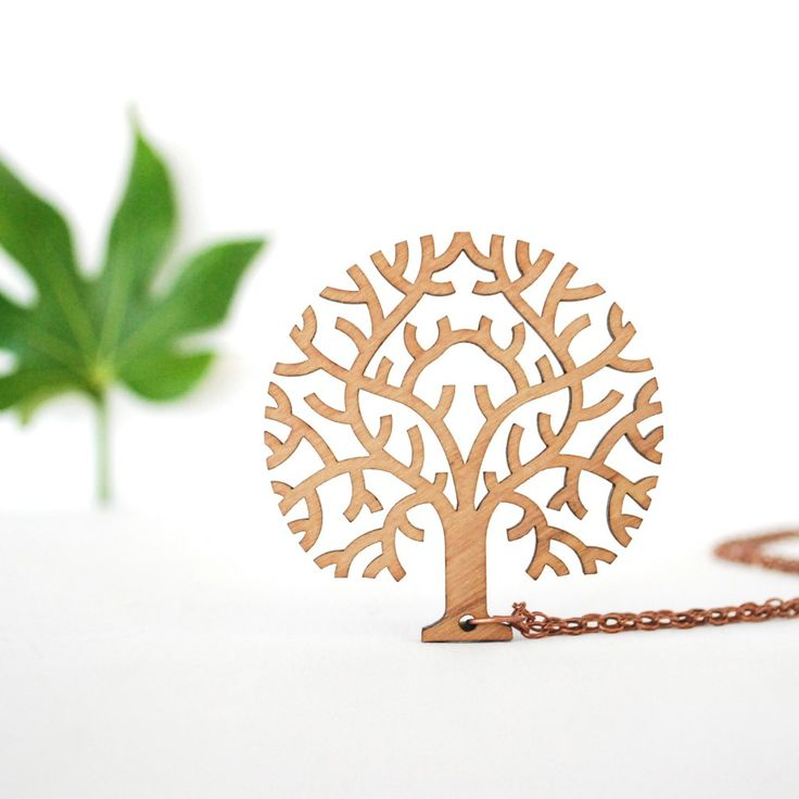 Tree  Pendant - Autumn Tree
