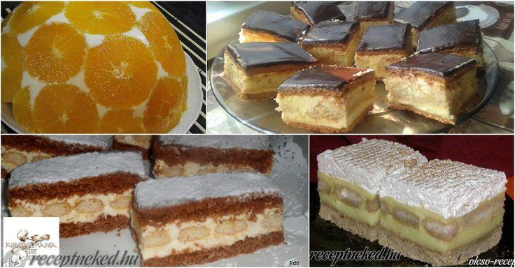 Nyolc krémes süti, amit imádni fogsz!
