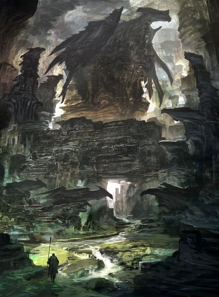 Feng Zhu Design: Dragon Cave via PinCG.com