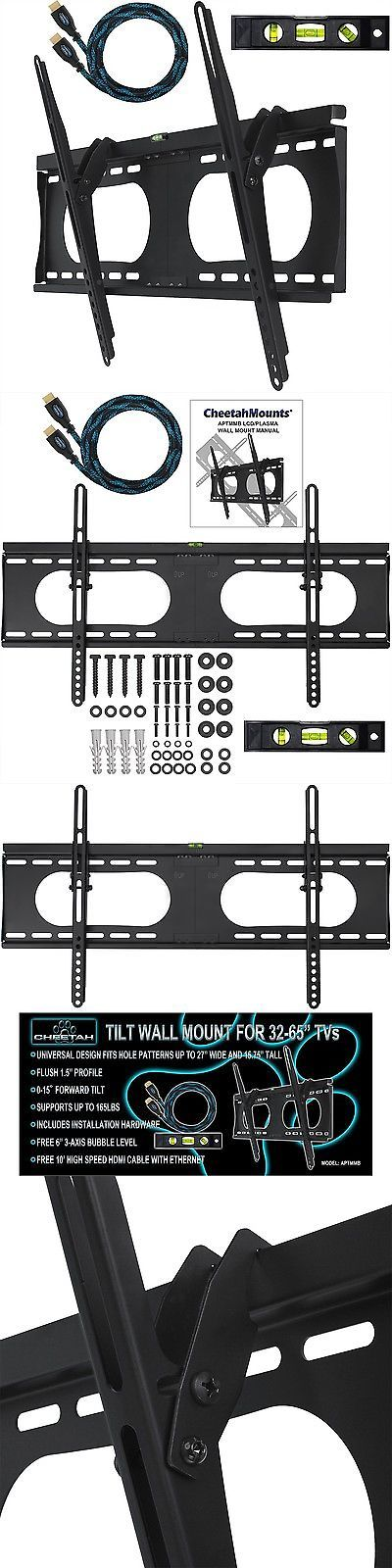 TV Mounts and Brackets: Cheetah Mounts Aptmmb Tilting Wall Mount Bracket For 32 To 65 Inch Tv Sets: T... -> BUY IT NOW ONLY: $2998.99 on eBay!