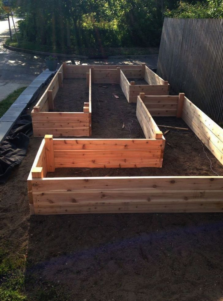 Tall Raised Garden Beds Diy to Building Plans For Raised ...