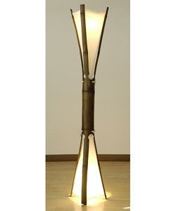 Double Face Sioux Floor Lamp (Colombia) | Overstock.com Shopping - The Best Deals on Floor Lamps