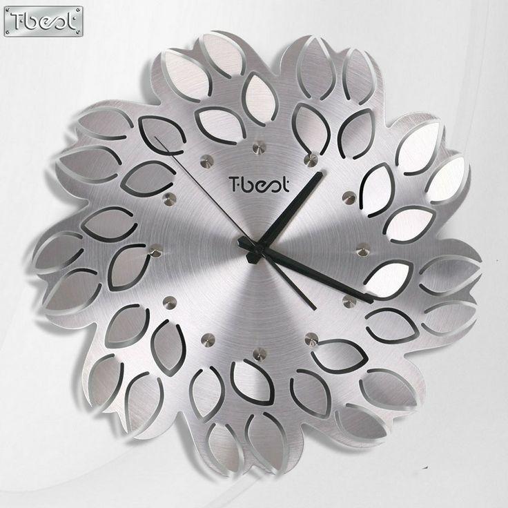 Shangmei Jia mute creative living room wall clock Butterfly Art - wanduhr für küche