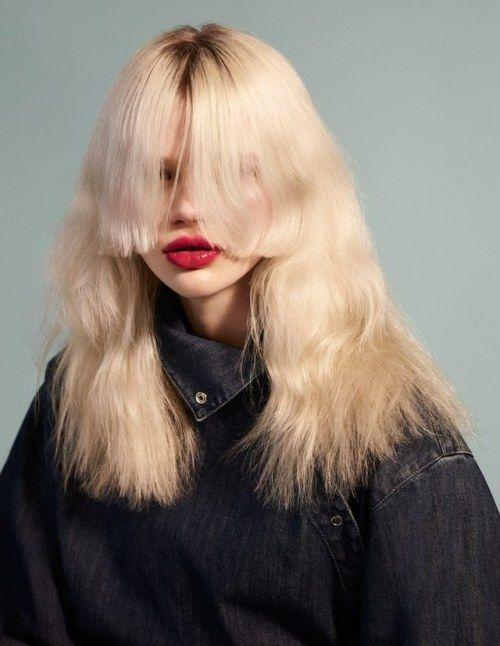 Fashion : these bangs!!! Stella Lucia by Sharif Hamza for @wmagazine.