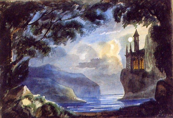 Giorgio Busato, Marco Visconti, Museo del Teatro, Almagro, 1850  del arte y los espectáculos, documentación artística, cultura y literatura