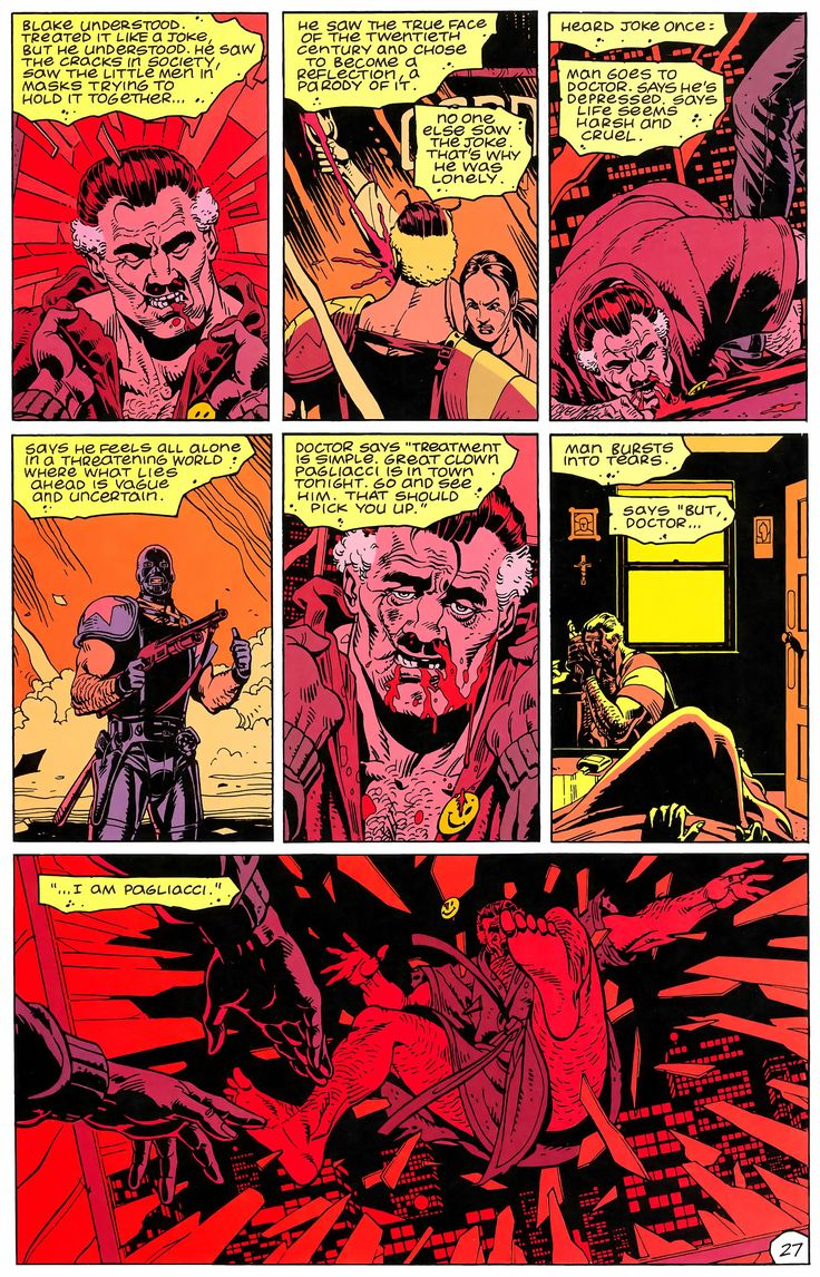 Watchmen Issue #2 - Read Watchmen Issue #2 comic online in high quality