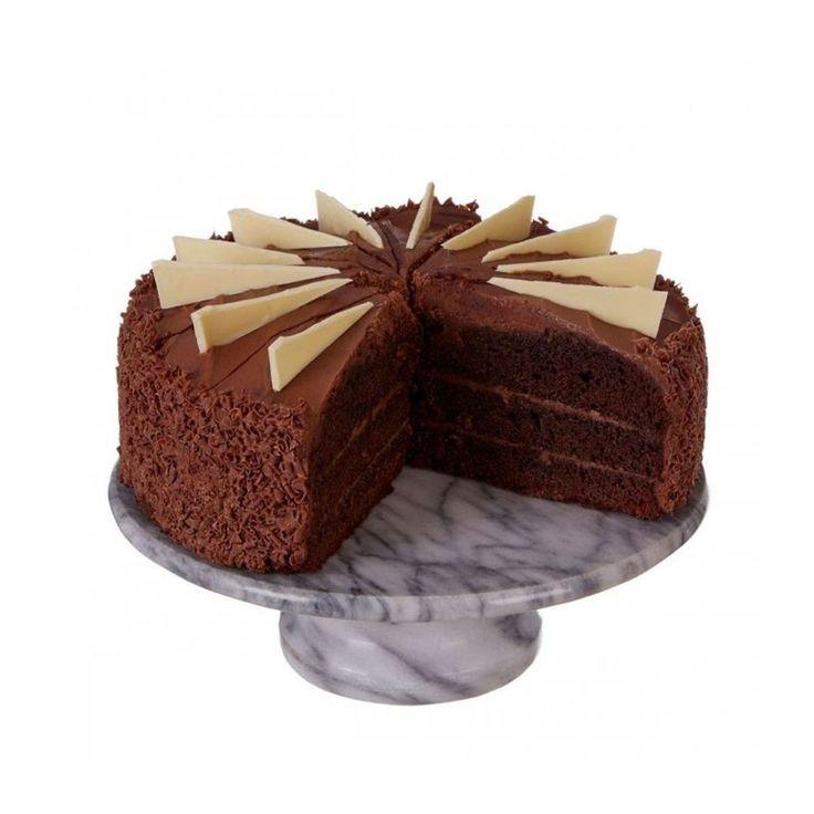 Présentoir À Gâteau Rond En Marbre Blanc – Taille : Taille Unique