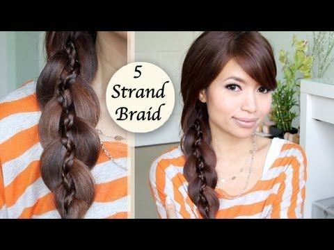 Unique 5 Strand Braid (Braid in Braid) Hairstyle Hair Tutorial - YouTubeBraid Hairstyles, Braids, braids tutorial, braids for short hair, braids for short hair tutorial, braids for long hair, braids for long hair tutorials... Check more at http://app.cerkos.com/pin/unique-5-strand-braid-braid-in-braid-hairstyle-hair-tutorial-youtube/