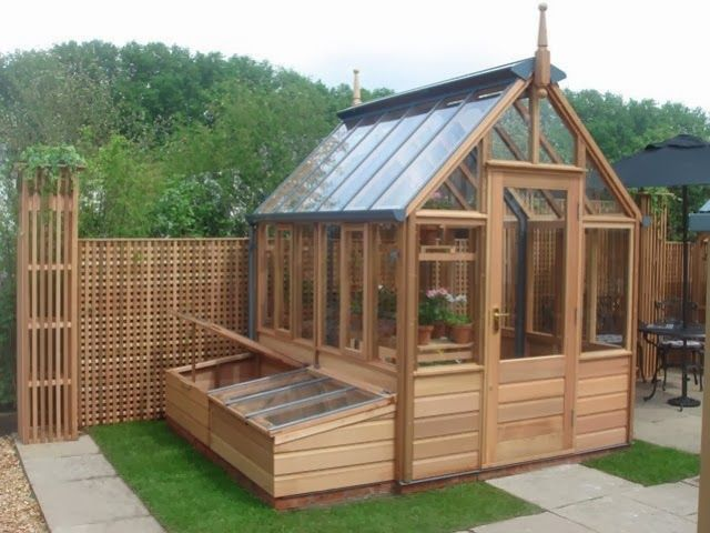 judys cottage garden garden potting sheds - Garden Sheds With Greenhouse