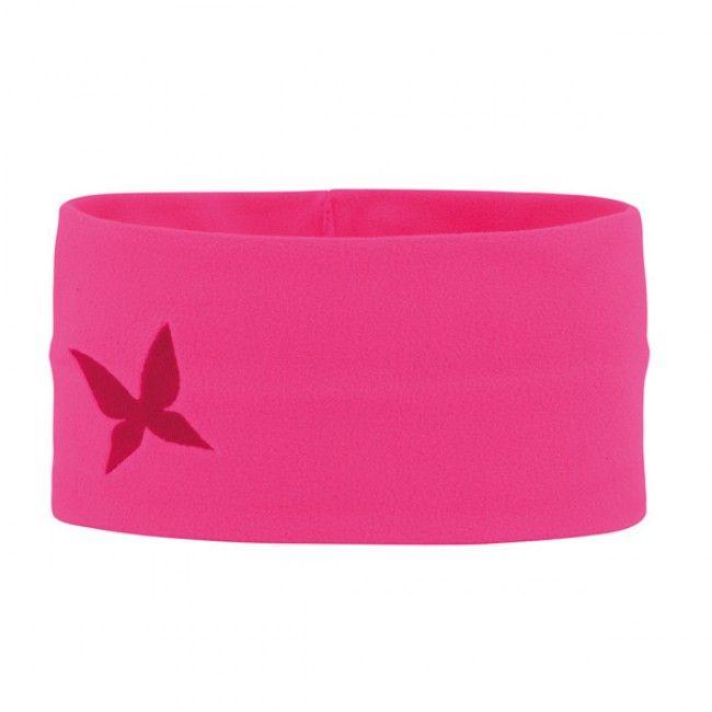 Kari Traa Fleece pandebånd Pink