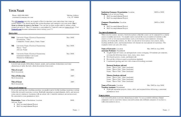 Empty Resume Form Hadiharunyahyaco In 2020 Cv Template Word Cv Template Free Curriculum Vitae Template