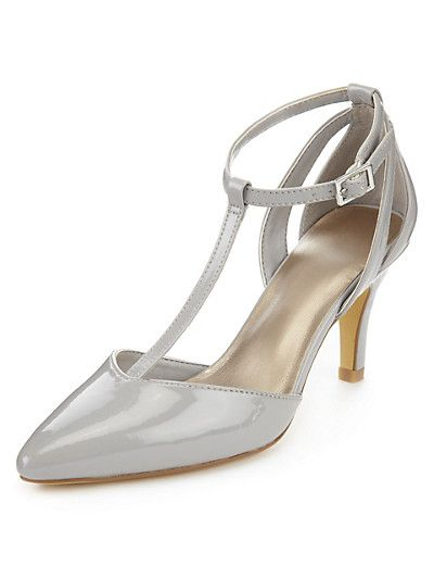 T-Bar Court Shoes with Insolia® Clothing