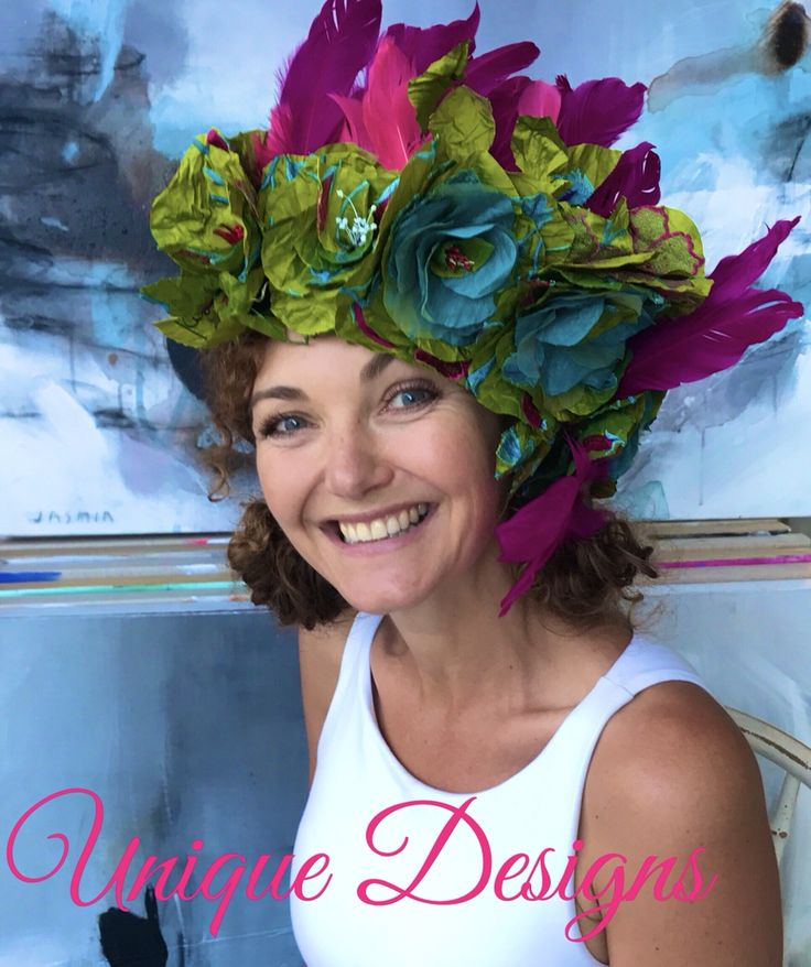 Beautifully Designed & Made Unique Head Pieces by Lisa