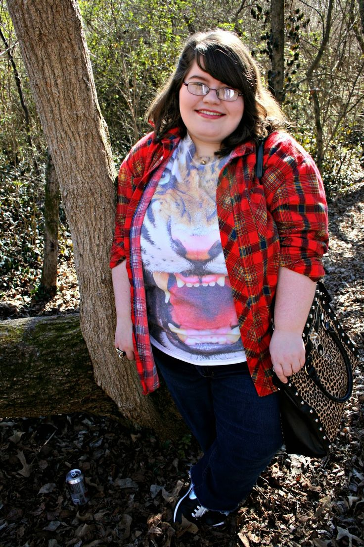 Unique Geek- Plus Size OOTD: Eye Of The Tiger #plussize #plussizefashion #plussizeblogger