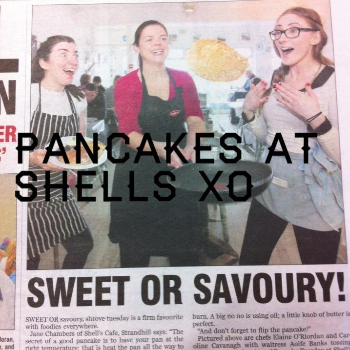 pancake tuesday.. in the Sligo Champion