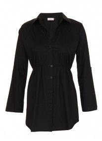 Longer-length Shirt Black