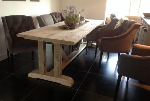 25 beste idee n over rustieke tafel op pinterest rustieke keukentafels keukentafels en eettafels - Shabby chique kamer ...