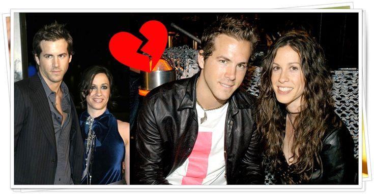 cantora Alanis Morissette e ator Ryan Reynolds foram noivos