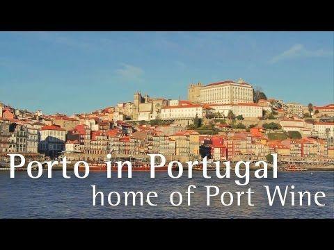 Porto in Portugal - home of Port wine - Porto tourism - Porto turismo - Vinho do Porto travel video